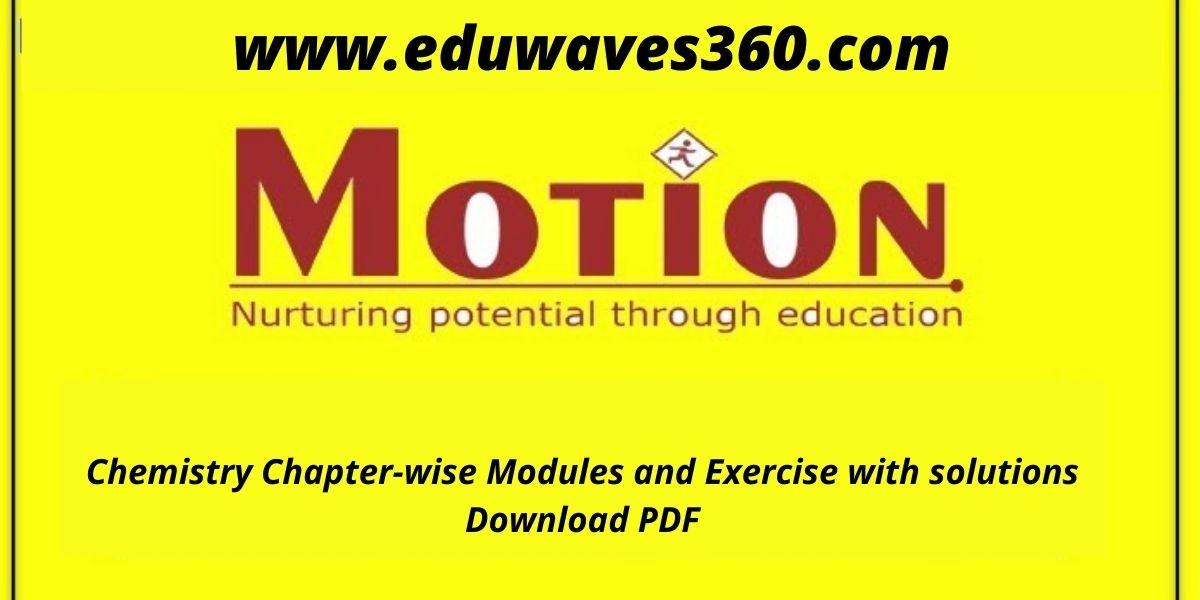 Motion chemistry modules - PDF
