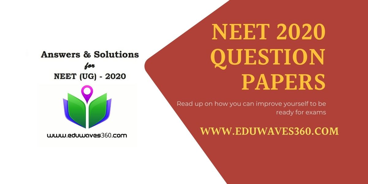 neet 2020 question paper with solution