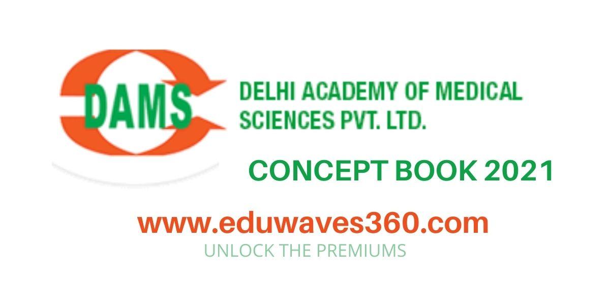 DAMS Concept book 2021 PDF free download