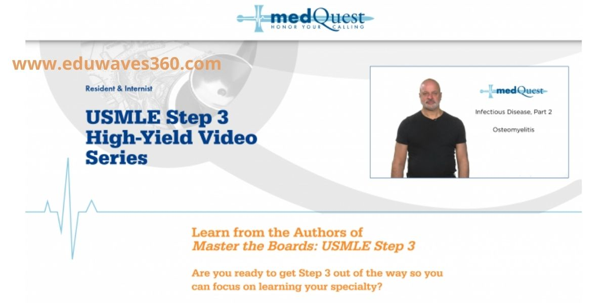Medquest usmle step 3 high yield video series